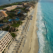 Hotel Grand Oasis from the air.