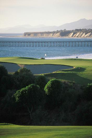 Sandpiper Golf Course in Goleta located near Santa Barbara California.