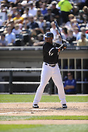 CHICAGO - AUGUST 14:  Ken Griffey Jr. #17 of the Chicago White Sox bats during the game against the Kansas City Royals at U.S. Cellular Field in Chicago, Illinois on August 14, 2008.  The White Sox defeated the Royals 9-2. (Photo by Ron Vesely)
