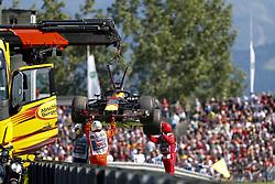 July 1, 2018 - Spielberg, Austria - Motorsports: FIA Formula One World Championship 2018, Grand Prix of Austria, ..#3 Daniel Ricciardo (AUS, Aston Martin Red Bull Racing) (Credit Image: © Hoch Zwei via ZUMA Wire)
