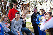Reportage institut des jeunes sourds, Bourg en Bresse, Ain // Report on the Institute for those young and deaf.  Bourg-en-Bresse, Ain  France.