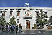 Town hall Plaza del Carmen, Granada, Andalusia, Spain