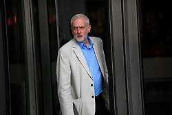 © Licensed to London News Pictures. 10/07/2016. London, UK. Labour Party Leader JEREMY CORBYN leaves BBC Broadcasting House in London after appearing on the Andrew Marr Show, on July 10, 2016.  Photo credit: Ben Cawthra/LNP