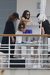 Kendall Jenner seen at The Eden Roc palace hotel in Antibes, France, during the 72nd cannes Film Festival on May 23, 2019. Photo by ABACAPRESS.COM