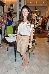 SHIRLEY LEIGH WOOD-OAKES at the Club Monaco Summer Cocktail party held at their store at 33 Sloane Square, London on 20th July 2016.