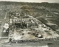 1931 Aerial photo of Fox Movietone Studios in West Los Angeles