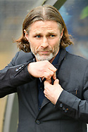 Wycombe Wanderers manager Gareth Ainsworth during the EFL Sky Bet League 2 match between Wycombe Wanderers and Port Vale at Adams Park, High Wycombe, England on 24 March 2018. Picture by Alistair Wilson.