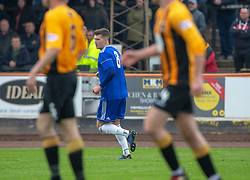 Cove Rangers Jamie Masson (8) celebrates after scoring their first goal. half time : Berwick Rangers 0 v 1 Cove Rangers, League Two Play-Off Second Leg played 18/5/2019 at Berwick Rangers Stadium Shielfield Park.