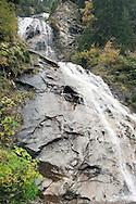 Waterfall near Innerfragant, on the Alpe Adria Trail above the Möll Valley, Carinthia, Austria (October 2015) © Rudolf Abraham