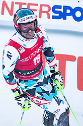 29.12.2016, Deborah Compagnoni Rennstrecke, Santa Caterina, ITA, FIS Ski Weltcup, Santa Caterina, alpine Kombination, Herren, Slalom, im Bild Vincent Kriechmayr (AUT) // Vincent Kriechmayr of Austria reacts after his run of Slalom competition for the men's Alpine combination of FIS Ski Alpine World Cup at the Deborah Compagnoni race course in Santa Caterina, Italy on 2016/12/29. EXPA Pictures © 2016, PhotoCredit: EXPA/ Johann Groder