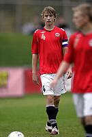 Fotball<br /> Landskamp G15<br /> Sverige v Norge 0:3<br /> Arvika<br /> 23.09.2010<br /> Foto: Morten Olsen, Digitalsport<br /> <br /> Marius Christopher Høibråten  -  Lillestrøm