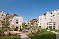 Architectural Image of Senior Living Community Weinburg Village in Owings Mills MD by Jeffrey Sauers of Commercial Photographics