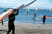 windsurfing in Kamakura Japan