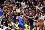 DESCRIZIONE : Campionato 2014/15 Serie A Beko Dinamo Banco di Sardegna Sassari - Grissin Bon Reggio Emilia Finale Playoff Gara4<br /> GIOCATORE : Giacomo Devecchi<br /> CATEGORIA : Postgame Ritratto Esultanza Tifosi Pubblico Spettatori<br /> SQUADRA : Dinamo Banco di Sardegna Sassari<br /> EVENTO : LegaBasket Serie A Beko 2014/2015<br /> GARA : Dinamo Banco di Sardegna Sassari - Grissin Bon Reggio Emilia Finale Playoff Gara4<br /> DATA : 20/06/2015<br /> SPORT : Pallacanestro <br /> AUTORE : Agenzia Ciamillo-Castoria/GiulioCiamillo