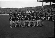 07/09/1975<br /> 09/07/1975<br /> 7 September 1975<br /> All-Ireland Hurling Final: Kilkenny v Galway at Croke Park, Dublin. <br /> The Galway team.