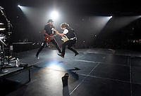 Justin Bieber performs in Norfolk, VA during the My World Tour. (MANDATORY CREDIT:  Robert Caplin / PSG)  **EXCLUSIVE : DOUBLE SPACE RATES APPLY.  CALL 646.325.3221 PRIOR TO PUBLICATION** Tomi Martin<br /> <br /> Photo © Robert Caplin<br /> robert@robertcaplin.com