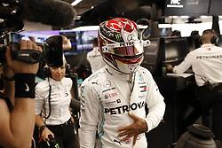 September 20, 2019, Singapore, Singapore: .#44 Lewis Hamilton (GBR, Mercedes AMG Petronas Motorsport) arrives for practice session for FIA Formula One World Championship 2019, Grand Prix of Singapore. (Credit Image: © Hoch Zwei via ZUMA Wire)