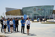 Rizhao Ocean Park, Marina, ppening ceremonies, Shandong Province