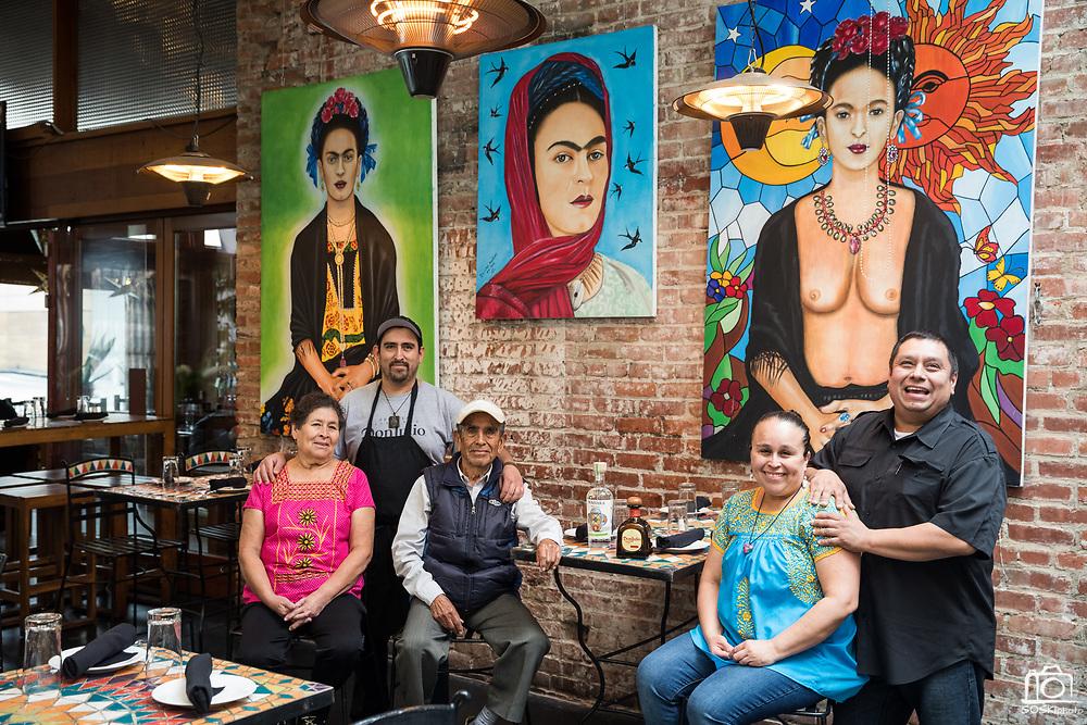 Mezcal restaurant in downtown San Jose, California, photographed on April 4, 2019. (Stan Olszewski for Silicon Valley Business Journal)