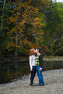 10/14/12 9:34:44 AM - Newtown, PA.. -- Amanda & Elliot October 14, 2012 in Newtown, Pennsylvania. -- (Photo by William Thomas Cain/Cain Images)