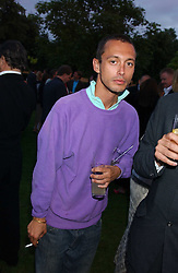 VISCOUNT MACMILLAN at the annual Serpentine Gallery Summer Party co-hosted by Jimmy Choo shoes held at the Serpentine Gallery, Kensington Gardens, London on 30th June 2005.<br /><br />NON EXCLUSIVE - WORLD RIGHTS