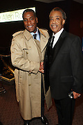 """15 November 2010- New York, NY- l to r: Rv. Conrad Tilyard and Rev. Al. Sharpton, NAN at The National Action Network's 1st Annual Triumph Awards honoring """"Our Best"""" in the Arts, Entertainment, & Sports held at Jazz at Lincoln Center on November 15, 2010 in New York City. Photo Credit: Terrence Jennings"""