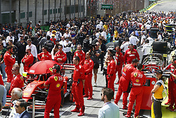 November 17, 2019, Sao Paulo, Brazil: Motorsports: FIA Formula One World Championship 2019, Grand Prix of Brazil, .#5 Sebastian Vettel (GER, Scuderia Ferrari Mission Winnow) (Credit Image: © Hoch Zwei via ZUMA Wire)