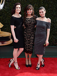 2018 Daytime Emmy Awards. 29 Apr 2018 Pictured: Marie Osmond and daughters. Photo credit: MEGA TheMegaAgency.com +1 888 505 6342