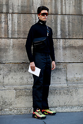 Street style, Marc Forne arriving at Valentino Spring-Summer 2019 menswear show held at Musee des Arts Decoratifs, in Paris, France, on June 20th, 2018. Photo by Marie-Paola Bertrand-Hillion/ABACAPRESS.COM