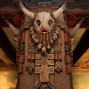 Detail from the Kimo Theater in Albuquerque, New Mexico