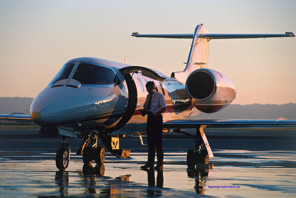 Lear 35-A business jet