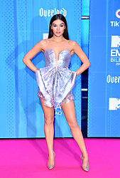 Hailee Steinfeld attending the MTV Europe Music Awards 2018 held at the Bilbao Exhibition Centre, Spain