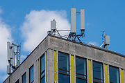 Huawei 5G Network Antenna is seen by the St. Pauls Station in central London on Tuesday, July 21, 2020.<br /> The Chinese tech giant will be banned in the UK from use in mobile networks from December 31st 2020. However, the existing installed equipment are to be removed by 2027, which will be followed by a decision on FTTP broadband that will come later. (VXP/Erica Dezonne)