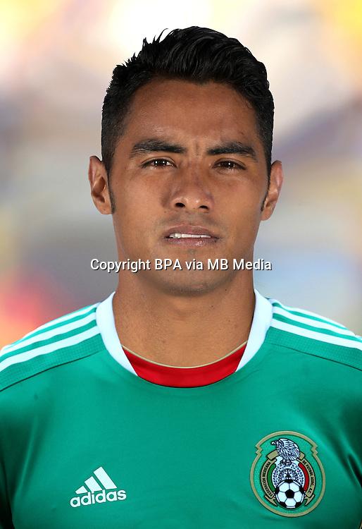 Football Fifa Brazil 2014 World Cup / <br /> Mexico National Team - <br /> Jose Juan Vazquez of Mexico