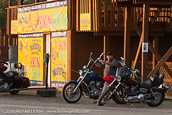 Bikini Beach at the Buffalo Chip during the 78th annual Sturgis Motorcycle Rally. Sturgis, SD. USA. Friday August 10, 2018. Photography ©2018 Michael Lichter.