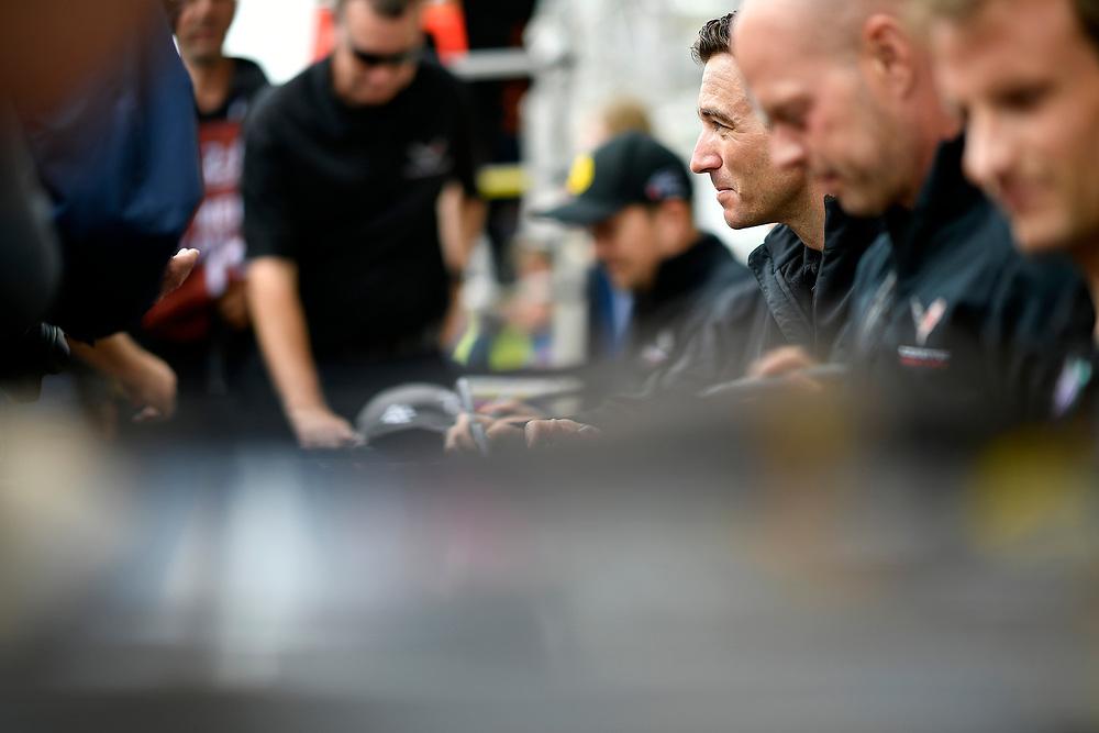 #64 Corvette Racing Chevrolet Corvette C7.R: Oliver Gavin<br /> Tuesday 12 June 2018<br /> 24 Hours of Le Mans<br /> Verizon IndyCar Series<br /> Circuit de la Sarthe  FR<br /> World Copyright: Scott R LePage<br /> LAT Images