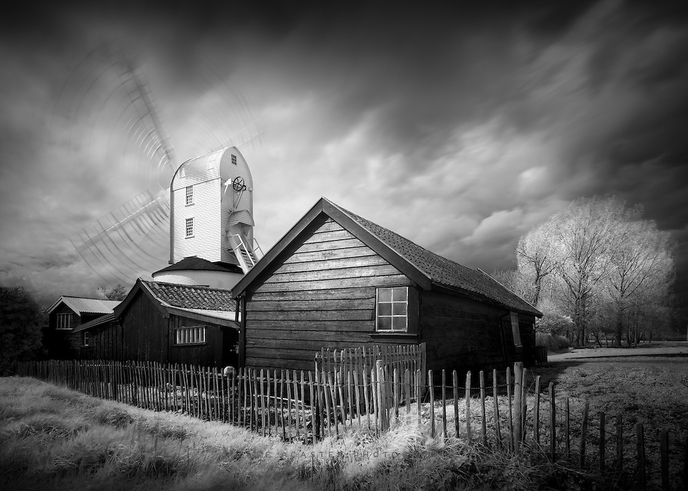 Another from yesterday afternoon at Saxstead Post Mill