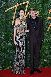 Kaia Jordan Gerber and Presley Gerber attending The Fashion Awards 2018 In Partnership With Swarovski at Royal Albert Hall in London, UK on December 10, 2018. Photo by ABACAPRESS.COM