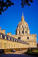 France, Paris (75), zone classée Patrimoine Mondial de l'UNESCO, cathédrale Saint-Louis-des-Invalides // France, Paris, Invalides, Saint-Louis-des-Invalides Cathedral