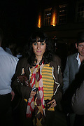Serena Rees. Tracey Emin's ' When I Think about Sex' exhibition after-party. Momo. Heddon St. London. 26 May 2005. ONE TIME USE ONLY - DO NOT ARCHIVE  © Copyright Photograph by Dafydd Jones 66 Stockwell Park Rd. London SW9 0DA Tel 020 7733 0108 www.dafjones.com