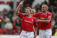 Photo: Pete Lorence.<br />Nottingham Forest v Bentford. Coca Cola League 1. 04/11/2006.<br />Kris Commons celebrates his first goal of the match.