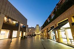 Exterior of new modern Beirut Souks retail development in Downtown Beirut, Lebanon