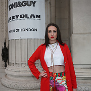 London, England, UK. 17th September 2017.CeeCee is a singer and songwriter attends FASHION SCOUT SS18 Day 3 at Freemasons Hall.