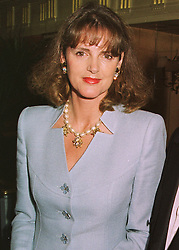 The HON.MRS VIRGINIA FRASER mother of model Honor Fraser, at a ball in London on 15th June 1998.MIJ 17 wo