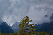 Brooding thunderclouds over Grand Teton National Park, Wyoming (c) Dave Walsh 2014