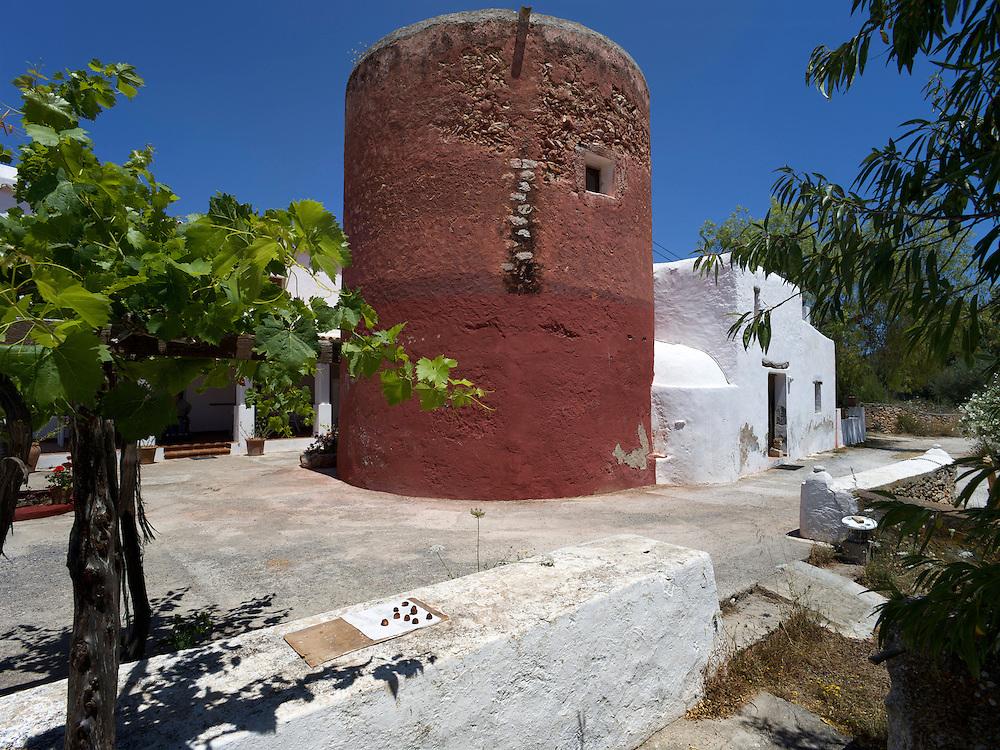 06/Junio/2010. Santa Eulària. Eivissa.Can Obrador..© JOAN COSTA....