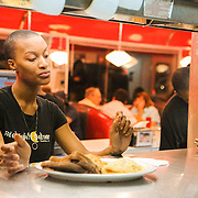 Scenes during late night service at the Midnight Diner in Southend Charlotte.