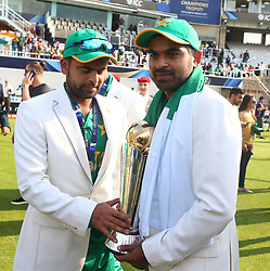 June 18, 2017 - London, United Kingdom - during the ICC Champions Trophy Final match between India and Pakistan at The Oval in London on June 18, 2017  (Credit Image: © Kieran Galvin/NurPhoto via ZUMA Press)