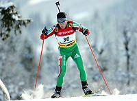 Biathlon, 02. december 2004, World Cup, Beitostolen,  Vladimir Dratchev , BLR Hviterussland