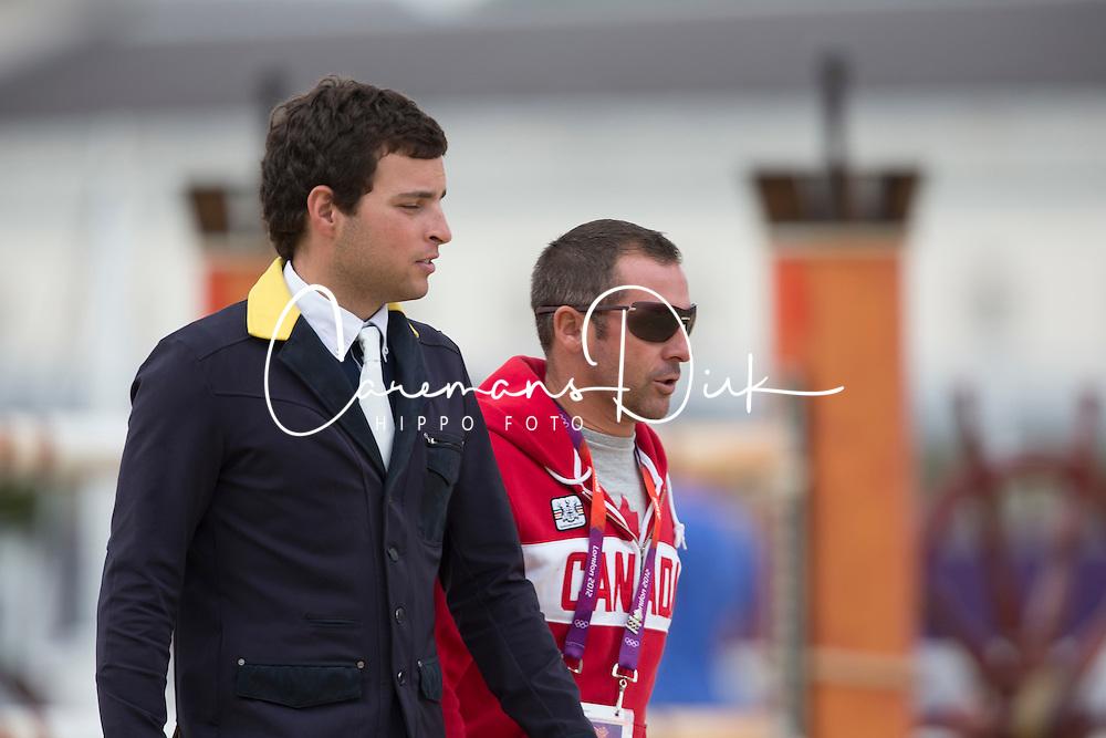 Bluman Daniel (COL), Lamaze Eric (CAN)<br /> Olympic Games London 2012<br /> © Dirk Caremans